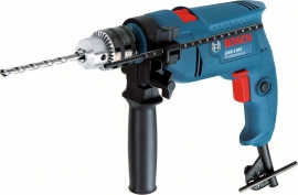 Дрель ударная Bosch GSB 1300 ЗВП (Картон) Professional (06011A1020, 0 601 1A1 020)