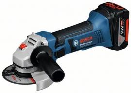 Аккумуляторная угловая шлифмашина (болгарка) Bosch GWS 18-125 V-LI (L-BOXX) Professional (060193A30B, 0 601 93A 30B)