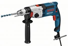 Дрель ударная Bosch GSB 21-2 RE (Чемодан ) Professional (060119C500, 0 601 19C 500)
