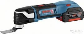 Аккумуляторный универсальный резак (реноватор) Bosch GOP 18 V-EC (L-BOXX) Professional (06018B0000, 0 601 8B0 000)