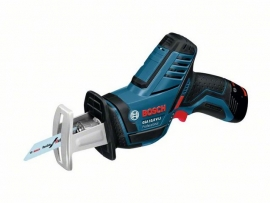 Аккумуляторная сабельная пила (ножовка) Bosch GSA 10,8V-LI (L-BOXX) Professional (060164L972, 0 601 64L 972)