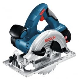 Аккумуляторная дисковая (циркулярная) пила Li-Ion Bosch GKS 18 V-LI (L-BOXX) Professional (060166H008, 0 601 66H 008)