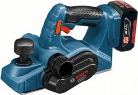 Аккумуляторный рубанок Bosch GHO 18 V-LI (L-BOXX) Professional (06015A0303, 0 601 5A0 303)
