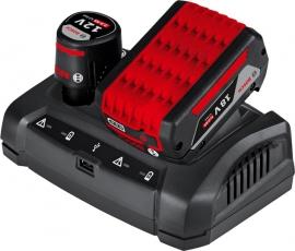 Многофункциональное зарядное устройство GAX 18V-30 Professional (1600A011A9, 1 600 A01 1A9)