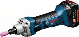 Аккумуляторная прямая шлифмашина Bosch GGS 18 V-LI (L-BOXX) Professional (06019B5304, 0 601 9B5 304)