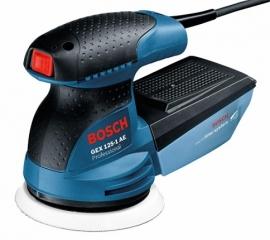 Эксцентриковая шлифмашина Bosch GEX 125-1 AE (Картон) Professional (0601387500, 0 601 387 500)