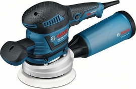 Эксцентриковая шлифмашина Bosch GEX 125-150 AVE (L-BOXX) Professional (060137B101, 0 601 37B 101)