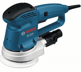 Эксцентриковая шлифмашина Bosch GEX 125 AC (Картон) Professional (0601372565, 0 601 372 565)
