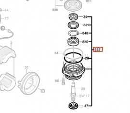 Опорный фланец 230 мм (1607000C05, 1 607 000 C05)