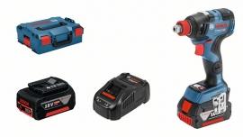 Аккумуляторный гайковерт GDX 18V-200 C 2x5,0 Ач L-Boxx (06019G4201, 0 601 9G4 201)