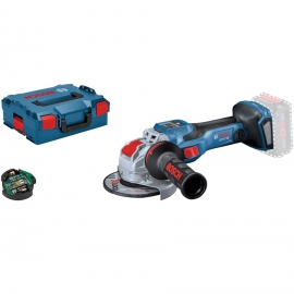 Аккумуляторная угловая шлифмашина Bosch GWX 18V-15 SC X-LOCK (Соло) (06019H6500, 0 601 9H6 500)