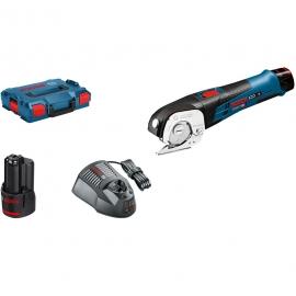 Аккумуляторные универсальные ножницы Li-Ion Bosch GUS 10,8V-LI (L-BOXX) Professional (06019B2904, 0 601 9B2 904)