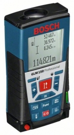 Лазерный дальномер Bosch GLM 150+штатив BS 150 (061599402H, 0 615 994 02H)