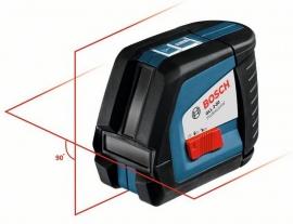 Линейный лазерный нивелир (построитель плоскостей) Bosch GLL 2-50 + вкладка под L-Boxx (0601063104, 0 601 063 104)