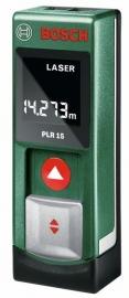 Дальномер лазерный Bosch PLR 15 (tinbox) EEU (0603672021, 0 603 672 021)