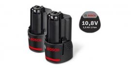 Комплект Аккумуляторов Bosch GBA 10,8 В 1,5 А/ч O-A Professional (Картон) (1600Z0003Z, 1 600 Z00 03Z)
