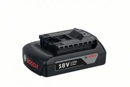 Аккумулятор Bosch GBA 18 В 1,5 А/ч M-A Professional (Картон) (1600Z00035, 1 600 Z00 035)