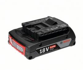 Аккумулятор Bosch GBA 18 В 2,0 А/ч M-B Professional (Картон) (1600Z00036, 1 600 Z00 036)