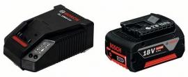 Базовый комплект Bosch GBA 18 В 4,0 А/ч M-C + AL 1860 CV Professional (Картон) (1600Z00043, 1 600 Z00 043)