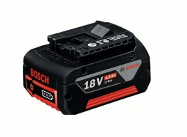 Аккумулятор Bosch GBA 18 В 4,0 А/ч M-C Professional (Картон) (1600Z00038, 1 600 Z00 038)