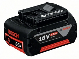 Аккумулятор Bosch GBA 18 В 5,0 А/ч M-C Professional (Картон) (1600A002U5, 1 600 A00 2U5)