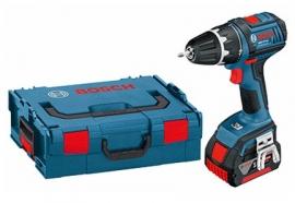 Аккумуляторный шуруповерт Li-Ion Bosch GSR 18 V-LI (L-BOXX) Professional (060186610H, 0 601 866 10H)