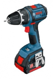 Аккумуляторный шуруповерт Li-Ion Bosch GSR 18 V-LI (L-BOXX)J Professional (060186610J, 0 601 866 10J)