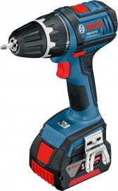 Аккумуляторный шуруповерт Li-Ion Bosch GSR 18 V-LI (Картон соло*) Professional (060186610G, 0 601 866 10G)
