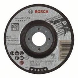 Обдирочный круг по нержавейке Bosch Best for Inox 115х7,0мм, вогнутый (2608603510, 2 608 603 510)
